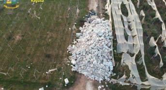 Acate. Sequestrata discarica abusiva con oltre 20 tonnellate di rifiuti speciali pericolosi