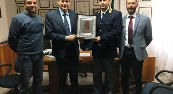 Il Questore Santarelli visita i Commissariati di P.S. di Mirandola e Carpi e saluta i Sindaci dei due Comuni modenesi