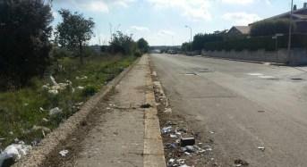 """Pulizia cigli stradali nelle aree periferiche, Ragusa in Movimento: """"I residui a causa del vento si sparpagliano ovunque, occorre maggiore attenzione nell'esecuzione di quest'attività"""""""