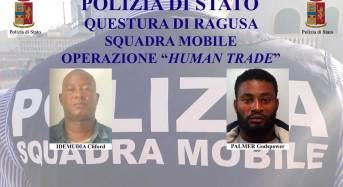 """Ragusa e Catania. Operazione """"Human Trade"""": Arrestati due nigeriani per immigrazione clandestina e sfruttamento alla prostituzione"""