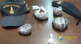 Arrestato ad Ispica un giovane pusher. Sequestrate oltre 160 grammi di sostanze stupefacenti