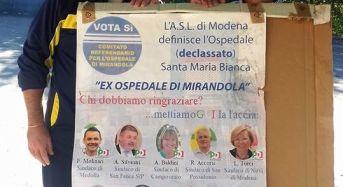Concordia sulla Secchia (Mo). Banchetto informativo del Movimento 5 Stelle a Vallalta.