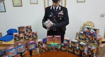 Pozzallo. Botti illegali venduti in strada: denunciato dai Carabinieri e sequestrati 30 kg di fuochi pirotecnici