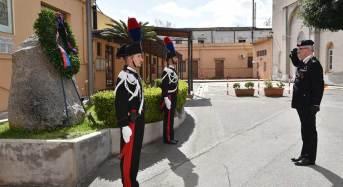 Palermo. Cerimonia per il quarantennale della concessione della bandiera di guerra al 12° reggimento carabinieri Sicilia
