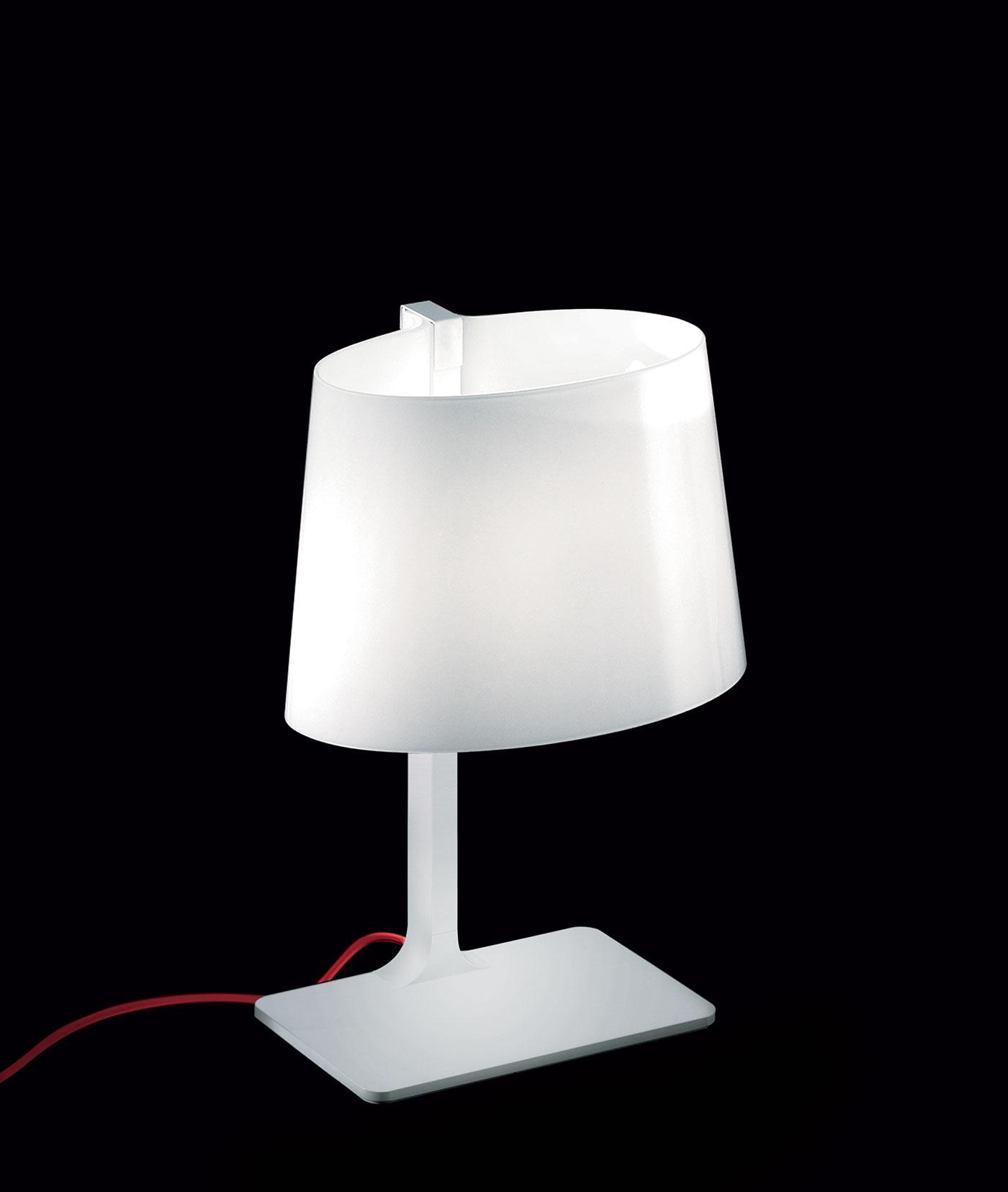 Marlowe Luxury White Hand Blown Glass Table Lamp Shop Online Italy Dream Design