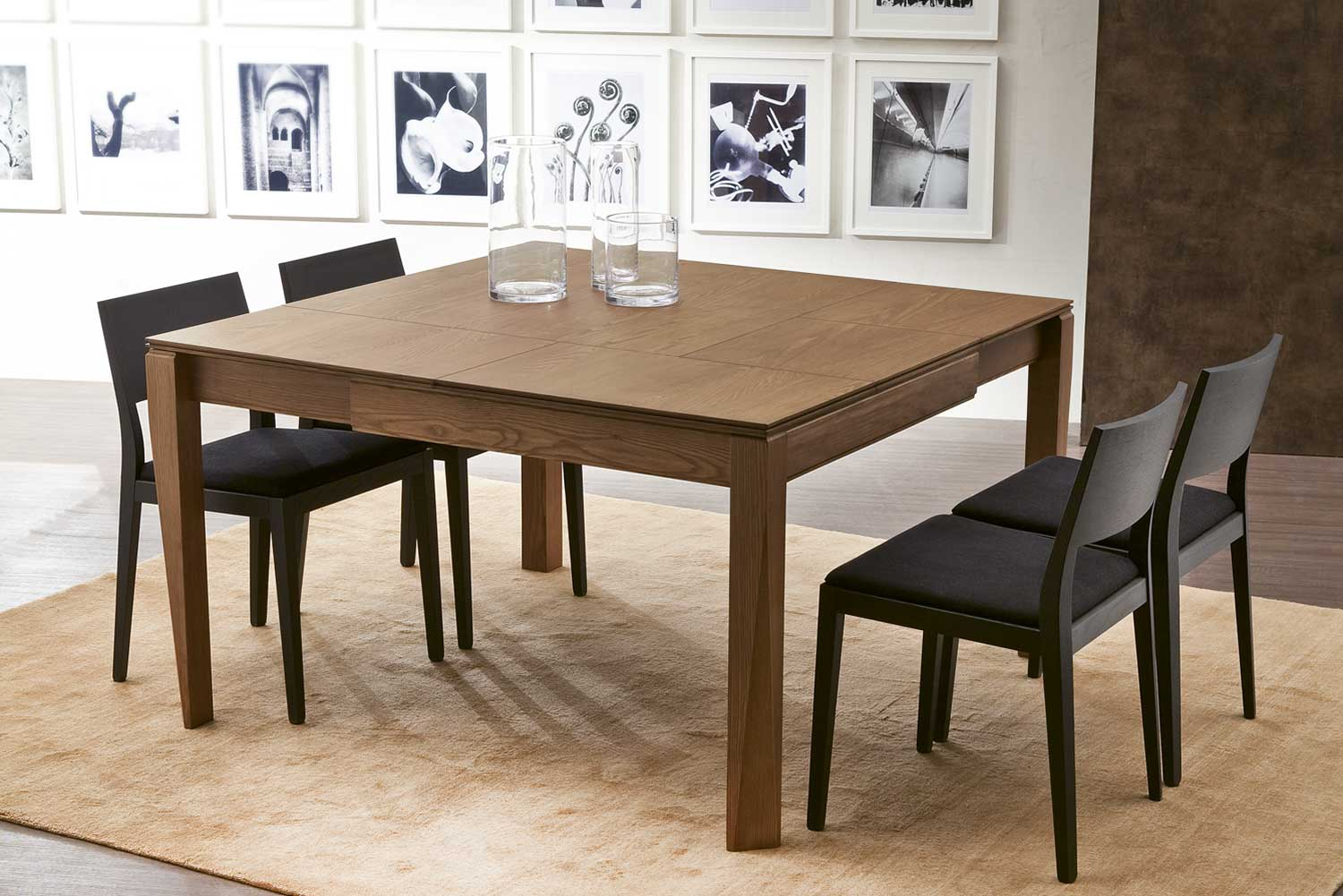 plurimo square transformable table