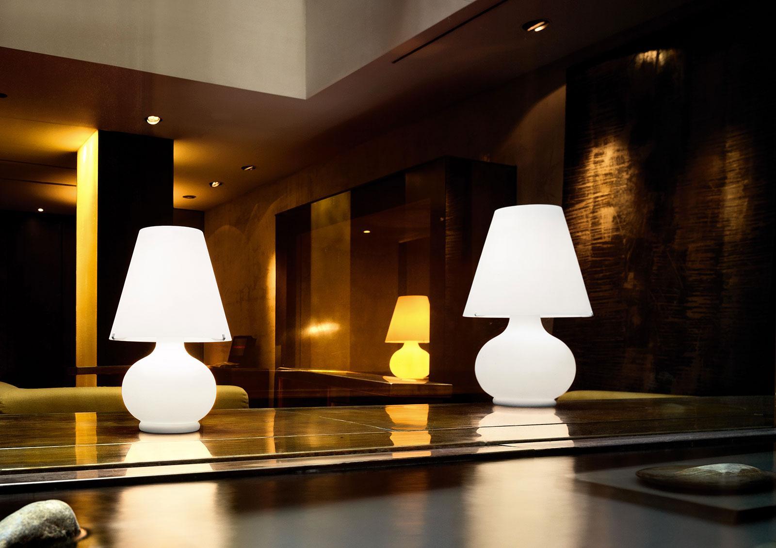 paralume lampe a poser en verre de murano
