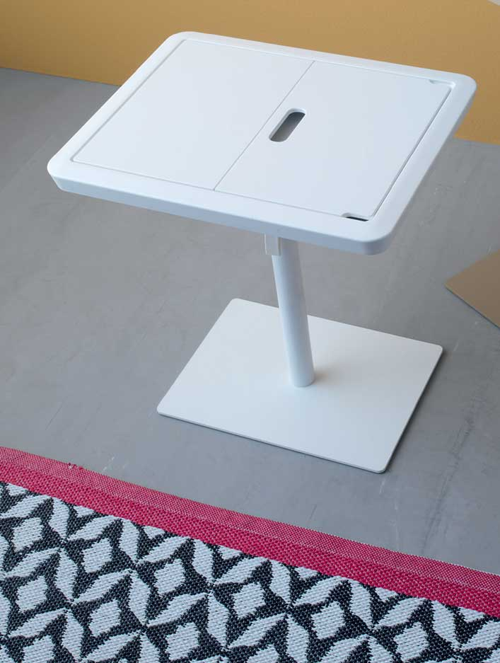 laptop tablet table