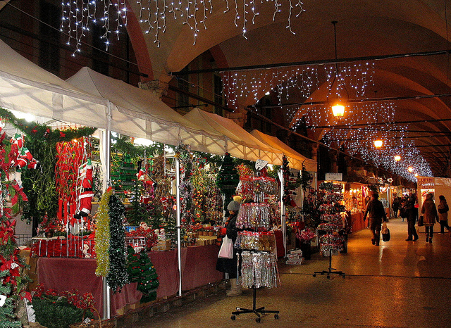 Bologna S Santa Lucia Fair Opens Christmas Markets Season