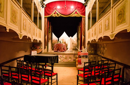 Teatrino Di Vetriano The World S Smallest Theatre Italy
