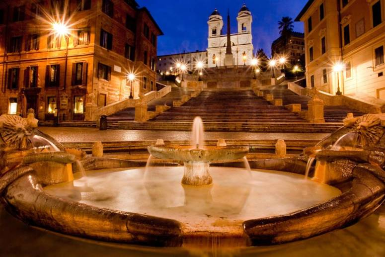 Image result for rome at night