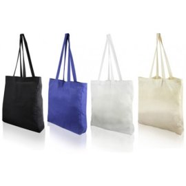 Shopper Cotone Colorato (38+8x42)