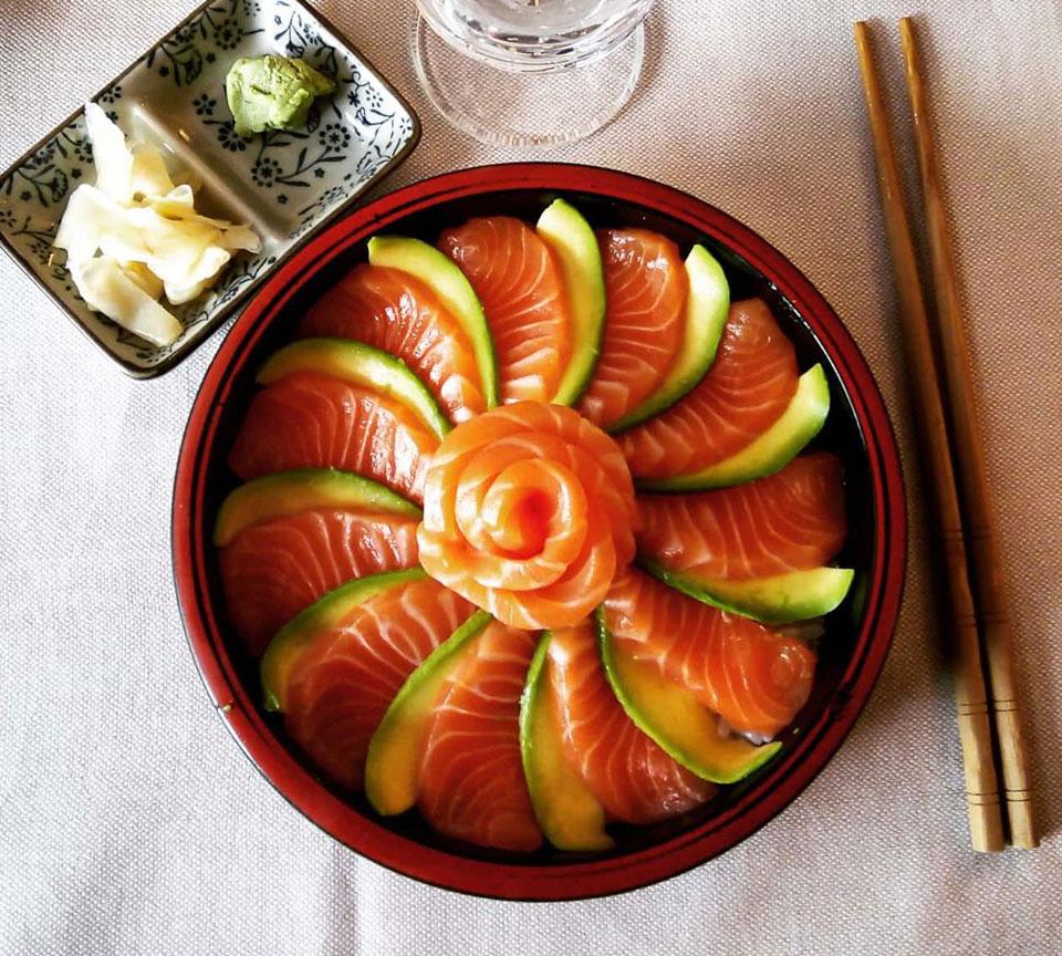 Chirashi Bowl - Poke Bowl - Itamae