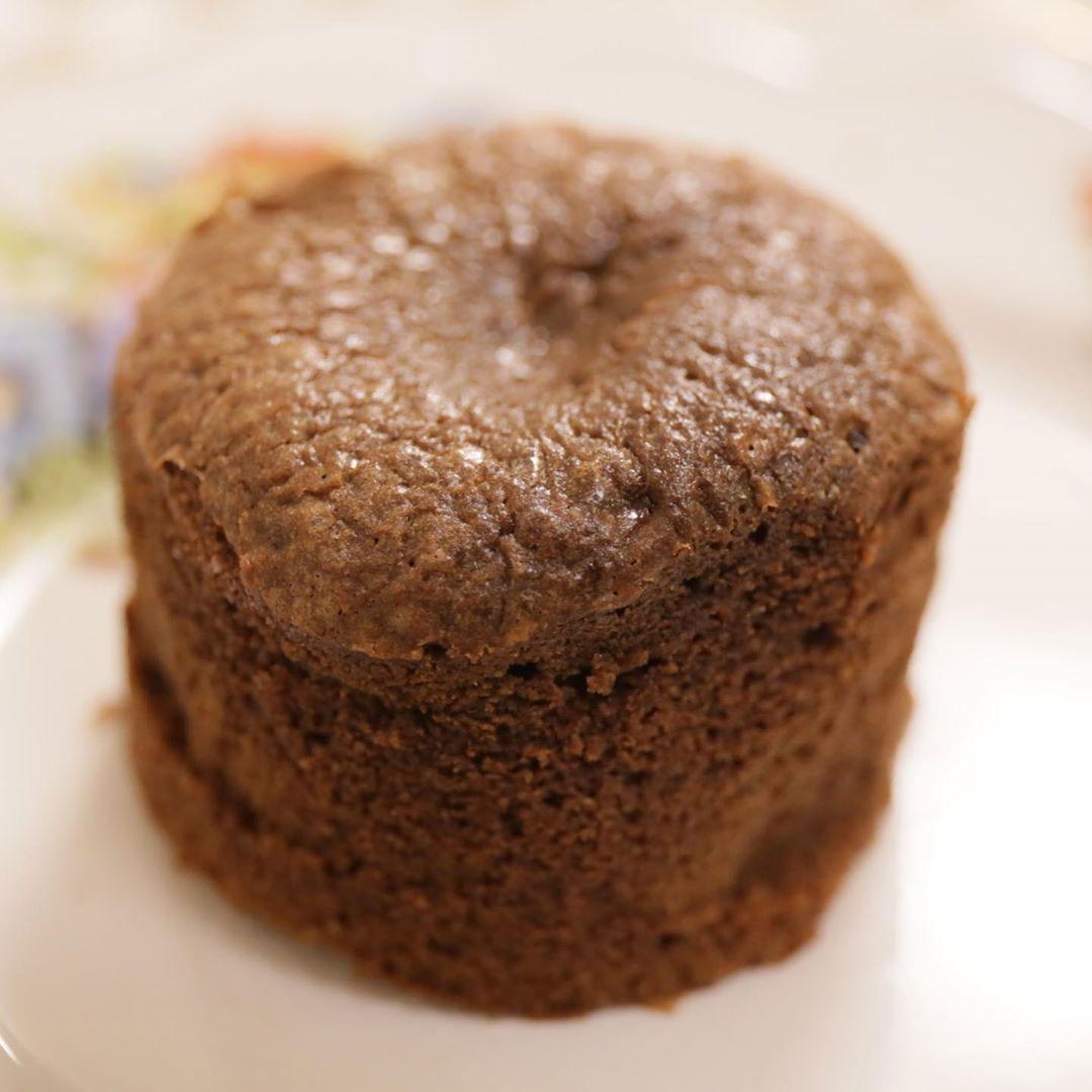 Moelleux chocolat gingembre chez Itamae