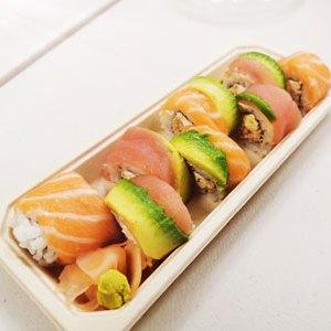 Raimbow Roll - Sushi - Itamae restaurant japonais à Marseille