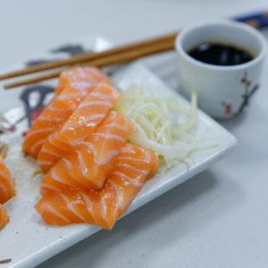 Sashimi de saumon - Sushi - Itamae
