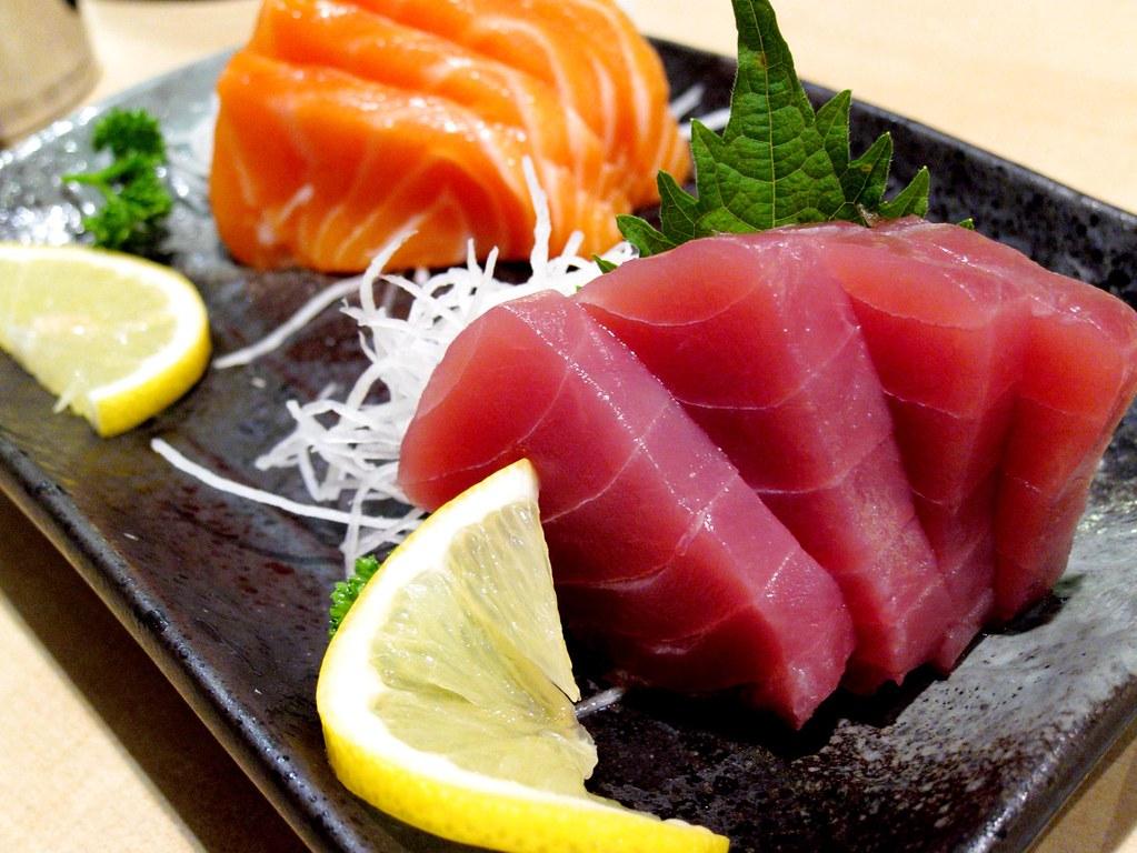 Sashimi mixte - Sushi - Itamae restaurant japonais à Marseille