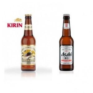 Kirin Ichiban et Asahi Super Dry chez Itamae