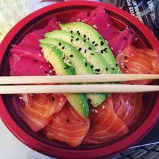 Chirashi mixte chez Itamae restaurant japonais à Marseille