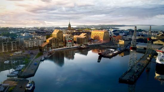 Helsingin Telakkaranta uudistuu