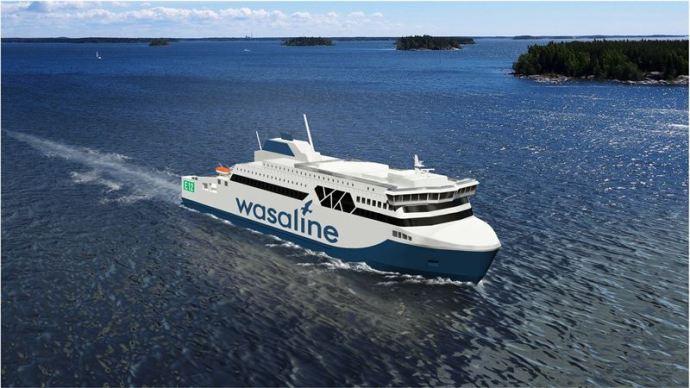Rauma Marine Constructions ja Kvarken Link allekirjoittivat Merenkurkun lautan