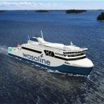 Rauma Marine Constructions ja Kvarken Link allekirjoittivat Merenkurkun lautan rakentamissopimuksen