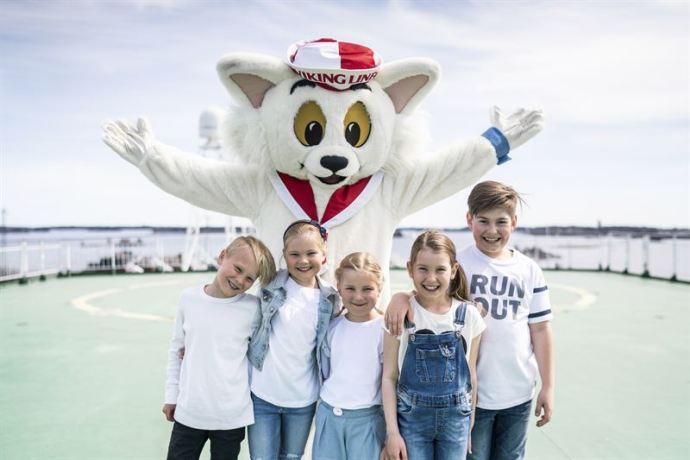 Viking Linen kesän ohjelmatarjonnassa panostetaan erityisen paljon lapsiin ja