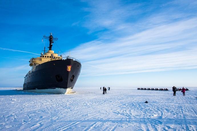 Jäänmurtaja Sampo ei risteile talvella 2020-21 ja Lumilinna 2021 tulee olemaan