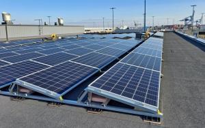 Satama moninkertaistaa tuottamansa aurinkoenergian määrän