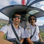Itaocarense se forma como Piloto de Helicóptero e ganha os Ares da Região