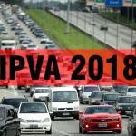 IPVA 2018: guia do DPVAT terá que ser emitida separadamente no Rio