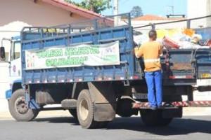 Coleta Seletiva Solidária avança para zona rural