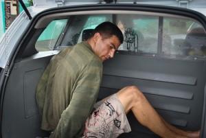 Gomes roubou, agrediu e foi preso