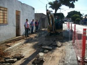 Obras prosseguem no Cubatão (Divulgação)