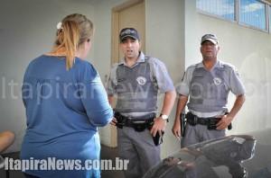Policiais conversaram com representantes do HM