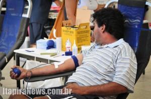 Coleta de sangue acontece na sede do Lions