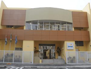 Fachado do Senac em Itapira : novas oportunidades