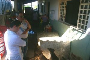 Secretário de Defesa Social, Coronel Vanderlei Manoel de Oliveira, inspeciona interior de entidade