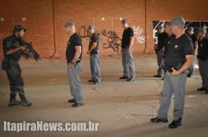 Grupos especiais ministraram treinamentos