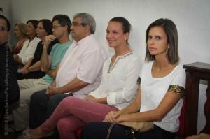 Professores e representantes de escolas acompanharam solenidade