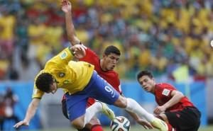Brasil e México duelaram bastante, mas placar não saiu do zero (Rafael Ribeiro-CBF)