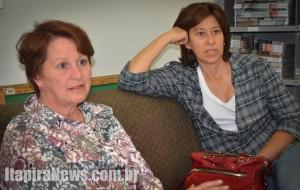Ivanilde e Luciana forneceram detalhes sobre o evento (Cássio Rotoli/Tribuna de Itapira)