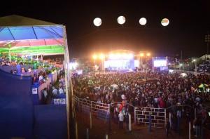 Grande público marcou presença em todos os dias da festa (Zalber Fotos)