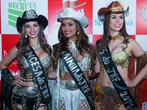 Taiane Silva, Mayara Barreto e Maiara Rizzi foram as eleitas em Jaguariúna. (Ana Cristina Colisse/AC Fotografia)