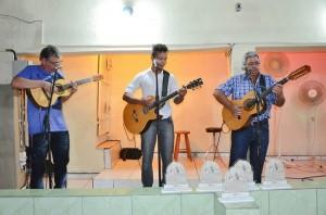 Trio Itapirense foi destaque no Festival Sertanejo (Divulgação)