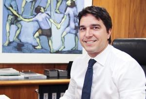 Fábio Cleto, vice-presidente de Fundos do Governo e Loterias da Caixa (Rodrigo de Oliveira)