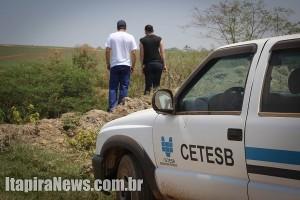 Mineradoras foram vistoriadas pela Cetesb e tiveram licenças suspensas