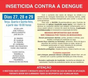 Cronograma de nebulização contra a dengue (clique para ampliar)