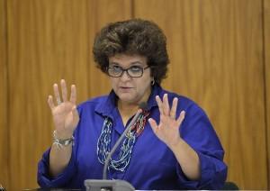 Ministra Izabella Teixeira considera sensível e preocupante o cenário de abastecimento de água no país (Wilson Dias/Agência Brasil)