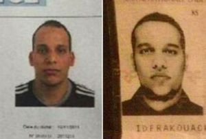 Irmãos franco-argelinos, suspeitos do atentado em Paris, foram mortos pela polícia (Reprodução)